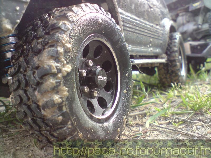 Combinés filtés 3YeahRacing 80mm Pajero Tamiya P0504028