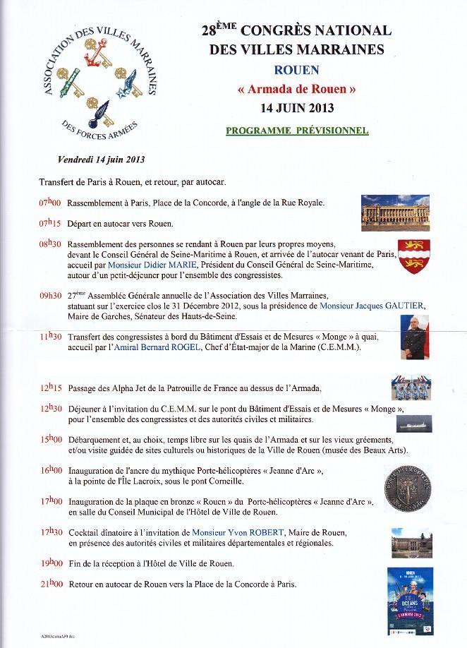 [Les traditions dans la Marine] Les Villes Marraines - Page 6 Progra10