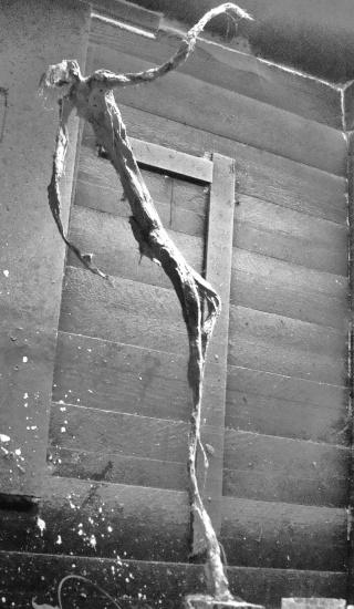 un homme qui tombe (plâtre) Novemb12