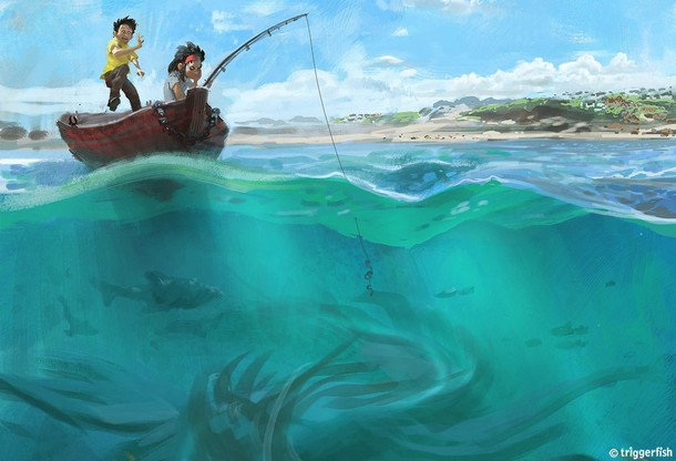 HERE BE MONSTERS - Triggerfish Animation Studio - En Projet Seamon10