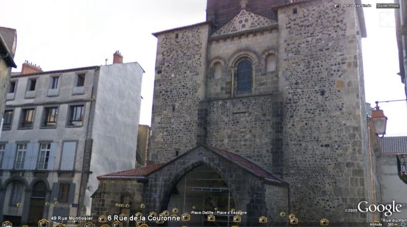 STREET VIEW : les édifices religieux Clermo10