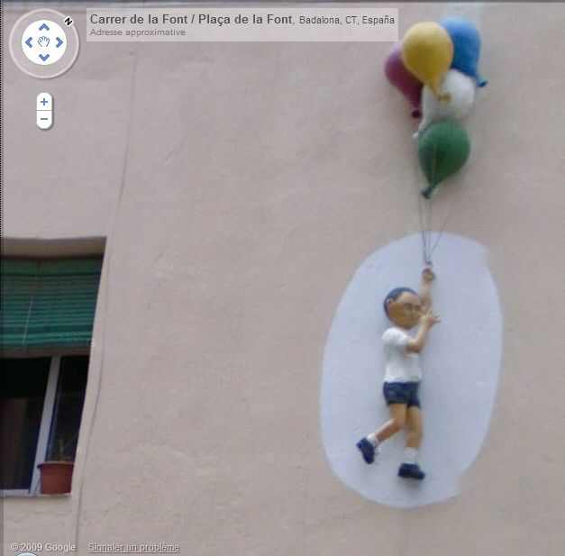 STREET VIEW : les fresques murales - MONDE (hors France) Enfant10