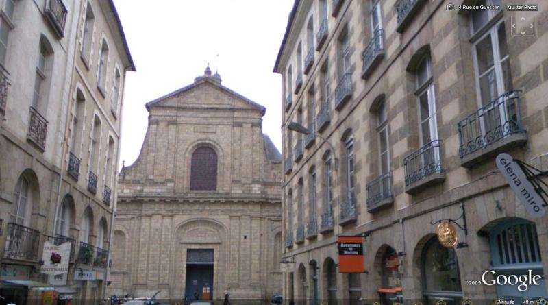STREET VIEW : les édifices religieux Rennes10