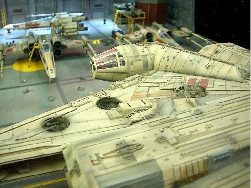 une superbe representation du hangard rebelle Fm110