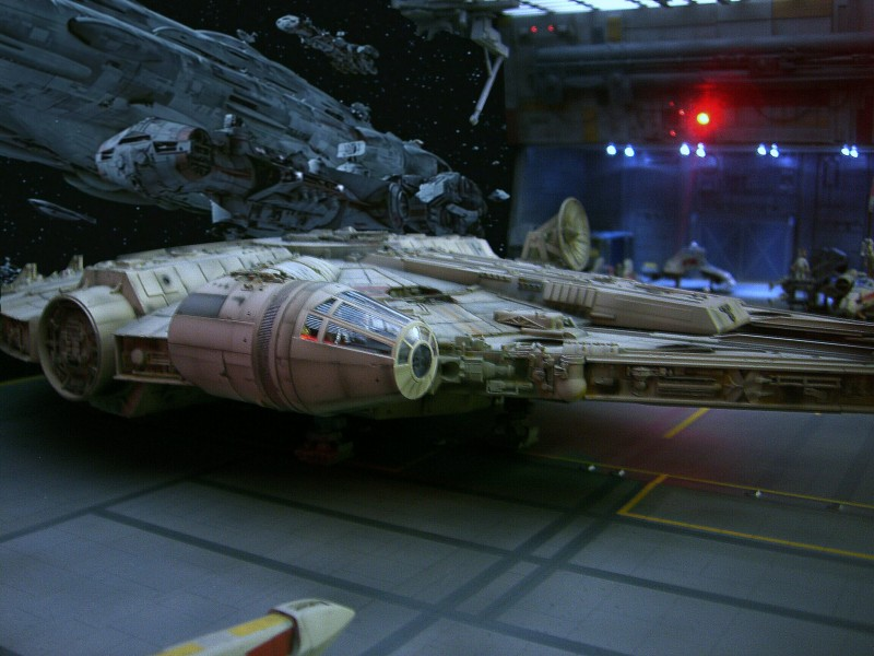 une superbe representation du hangard rebelle Fm1110
