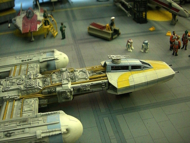une superbe representation du hangard rebelle Fm1210