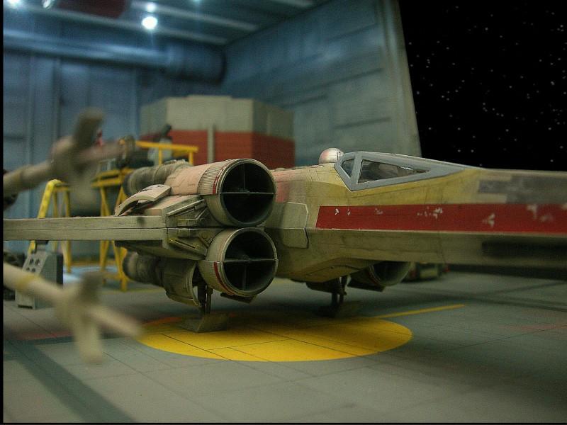 une superbe representation du hangard rebelle Fm1410