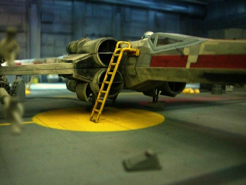 une superbe representation du hangard rebelle Fm1510