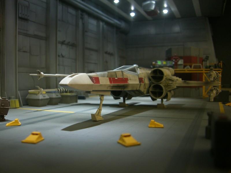 une superbe representation du hangard rebelle Fm1710