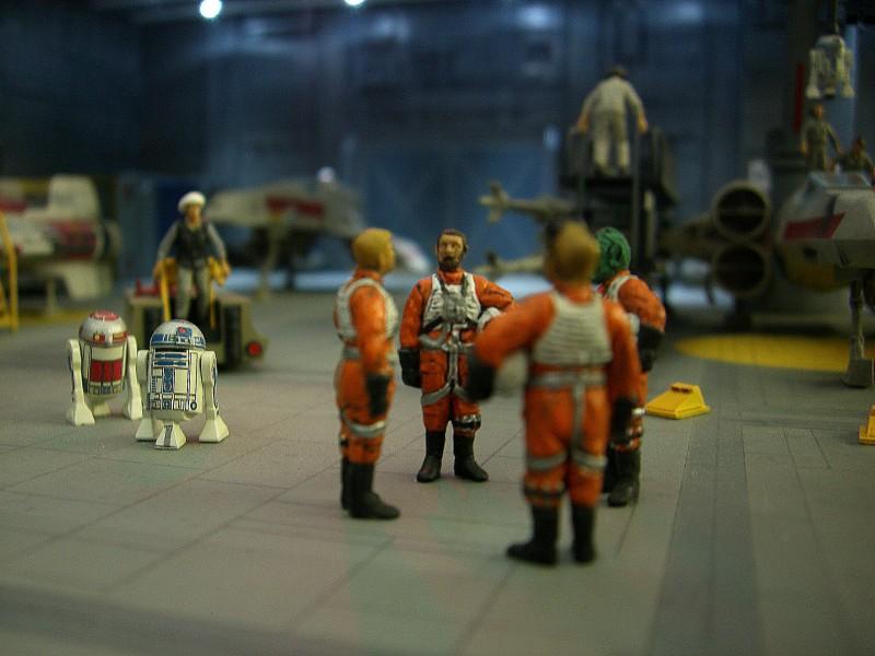 une superbe representation du hangard rebelle Fm1810