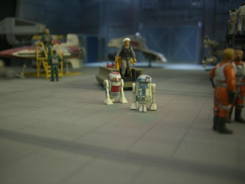 une superbe representation du hangard rebelle Fm1910
