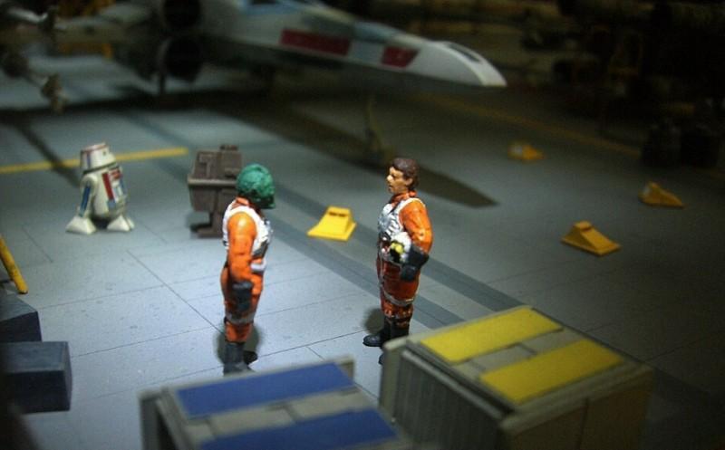 une superbe representation du hangard rebelle Fm2310