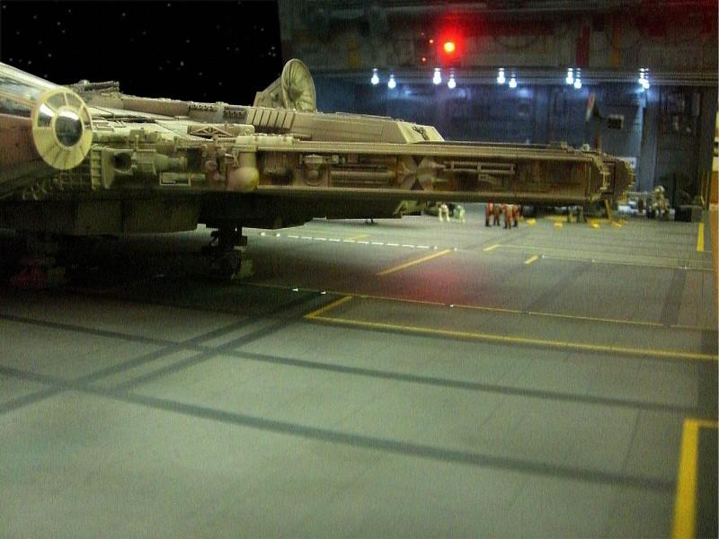 une superbe representation du hangard rebelle Fm2910