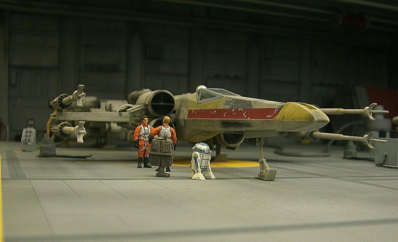 une superbe representation du hangard rebelle Fm310