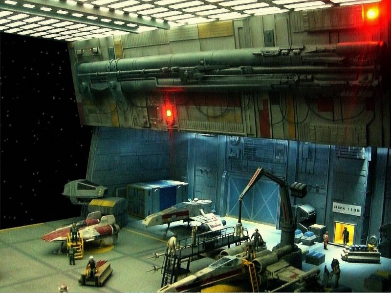 une superbe representation du hangard rebelle Fm3210