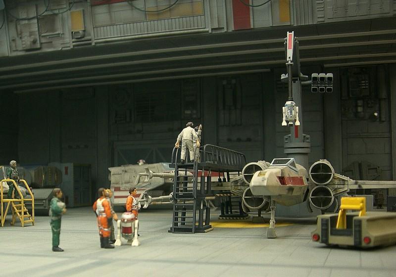 une superbe representation du hangard rebelle Fm3310