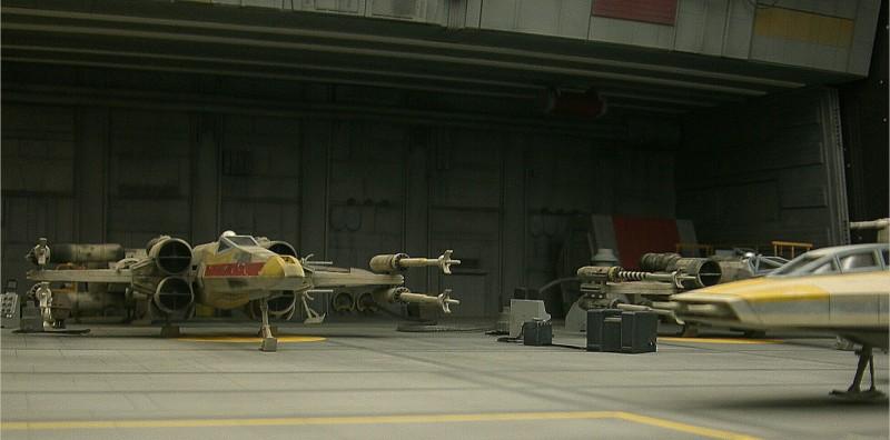 une superbe representation du hangard rebelle Fm510