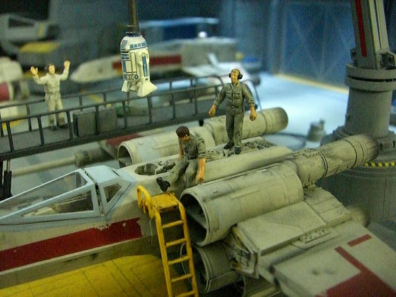 une superbe representation du hangard rebelle Fm610