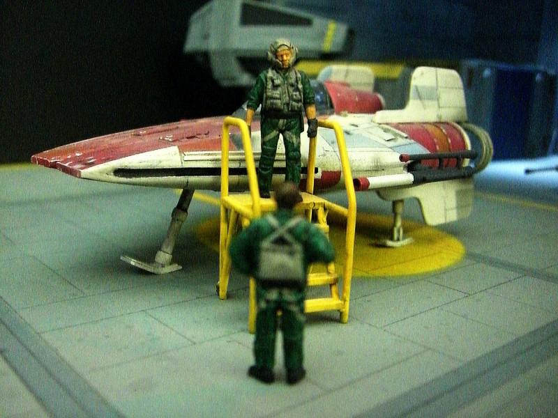 une superbe representation du hangard rebelle Fm910