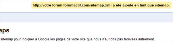 Optimiser le référencement de votre forum via Google Sitemaps 0910