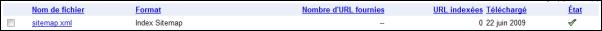 Optimiser le référencement de votre forum via Google Sitemaps 1110