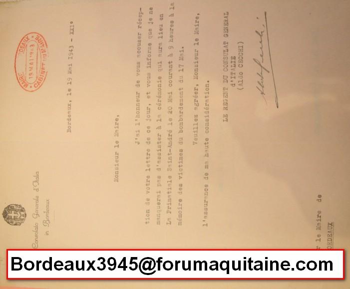 Assassinat de LUIGI DRAGO, consul d'Italie à Bdx 2013-063