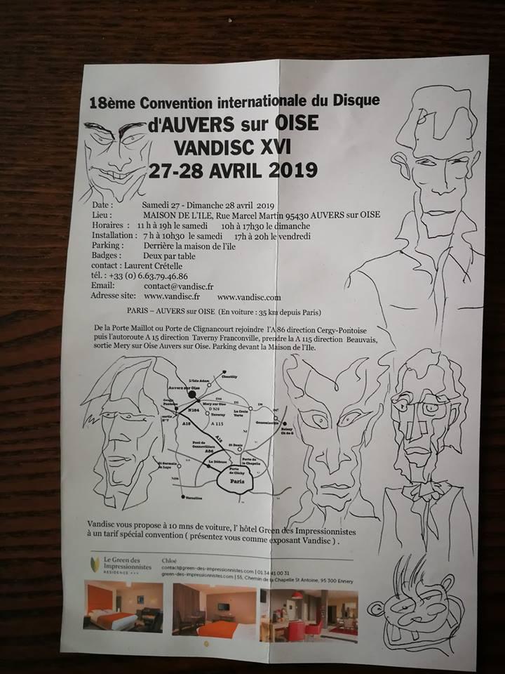 Salons et  conventions de disques Conven11