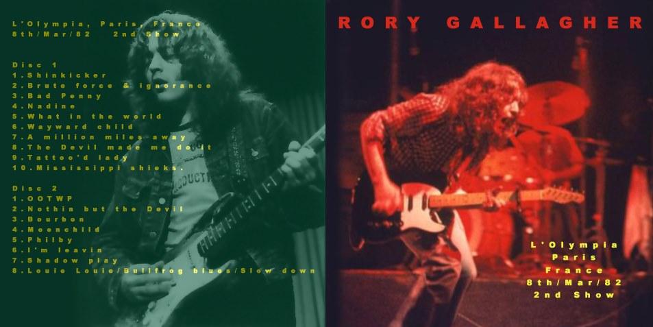 Quels albums ou chansons de Rory écoutez - vous en ce moment ? Rory310