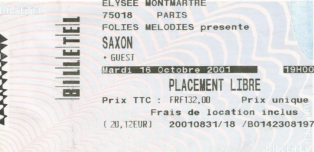Liste des concerts Français. - Page 4 Saxon119