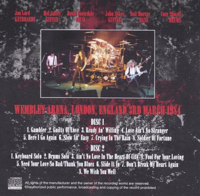 WHITESNAKE's Bootlegs Ws-def11