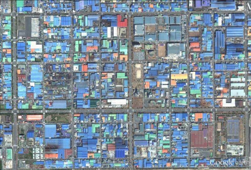 Les objets familiers vus sur Google Earth : écrous - tapis - planche... & caetera - Page 6 Pusan_10