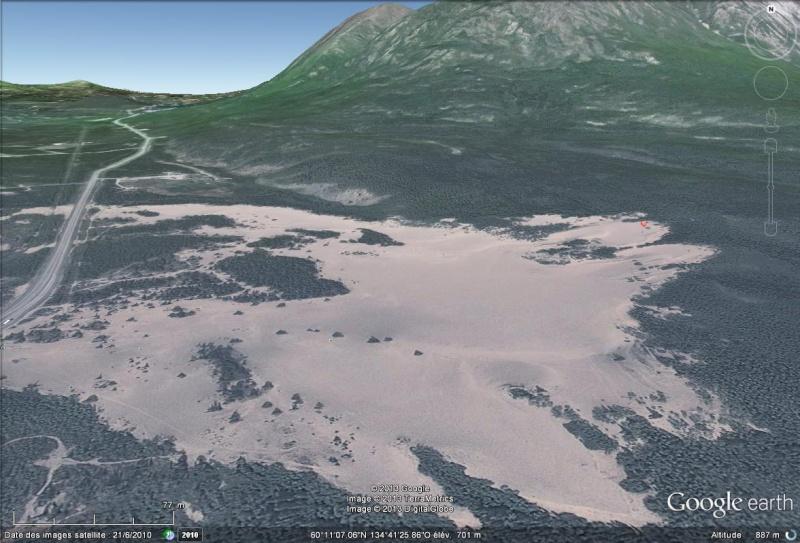 Le plus petit désert du monde, Carcross, Yukon, Canada Sans_149