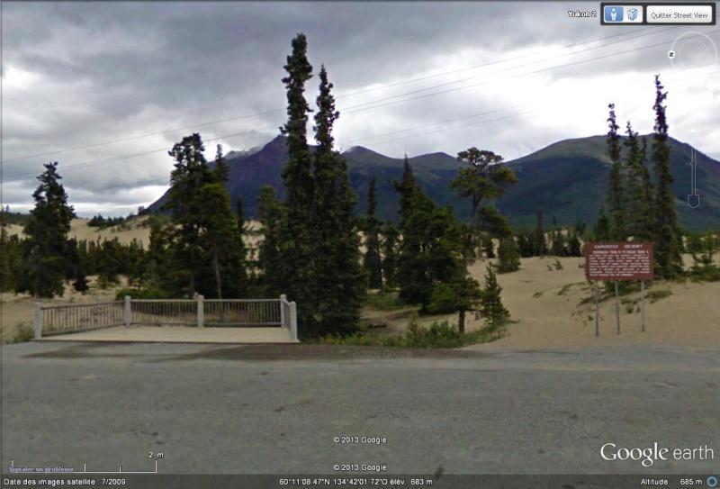 Le plus petit désert du monde, Carcross, Yukon, Canada Sans_150