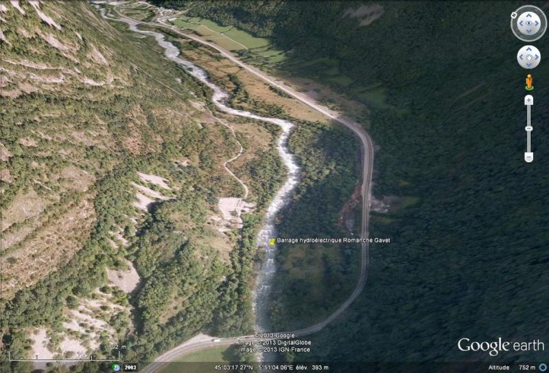 [Désormais visible sur Google Earth] - Le barrage hydroélectrique de Gavet sur la Romanche - Isère Sans_212