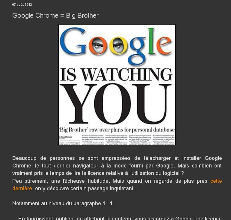[résolu] ALERTE VIRUS avec Google Chrome Sans_218
