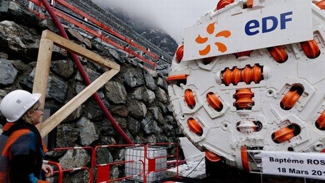 [Désormais visible sur Google Earth] - Le barrage hydroélectrique de Gavet sur la Romanche - Isère Tunnel10