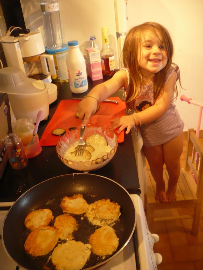 Mousse de rougets avec ses beignets de courgette Mai20010
