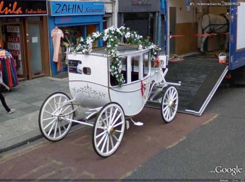 STREET VIEW : Les carrosses, les calèches dans le monde - Page 2 Carros10