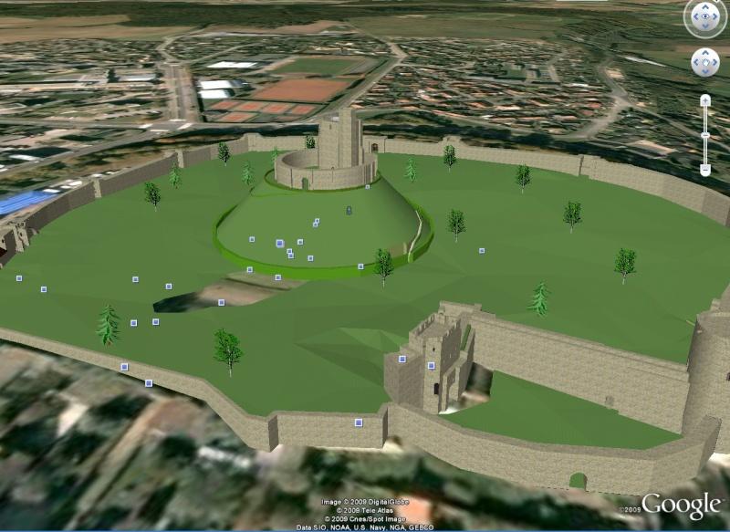 Eglise de St Guinal en 3D à Ergué-Gabéric par LURGEE !  :) - Page 2 Chatea10