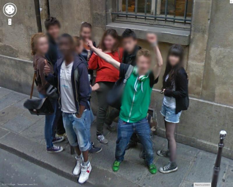 STREET VIEW : un coucou à la Google car  - Page 21 Coucou12