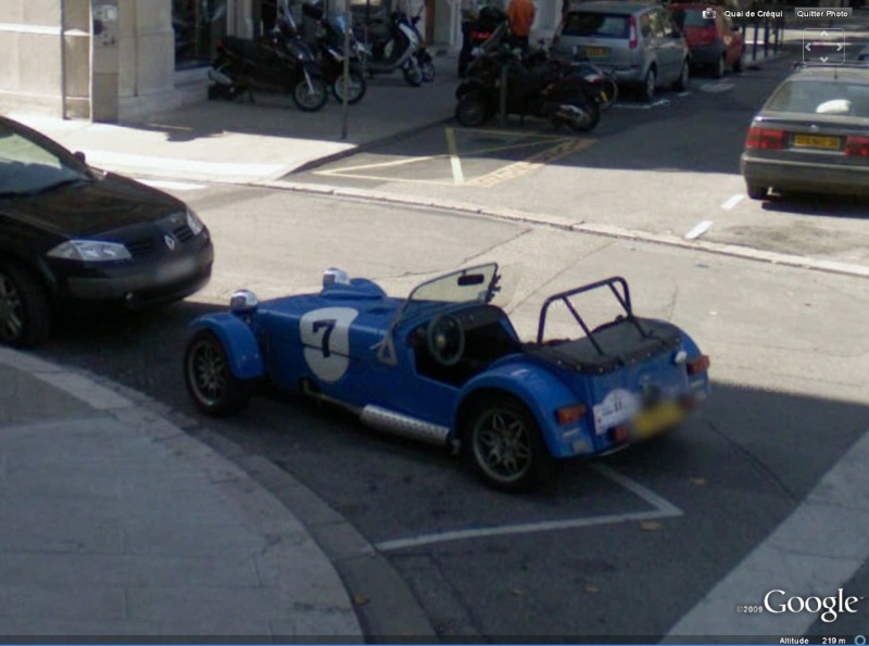STREET VIEW : belles voitures (France) - Page 3 Lotus710