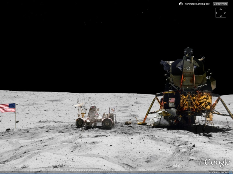 STREET VIEW : Missions Apollo, Lune Moon10
