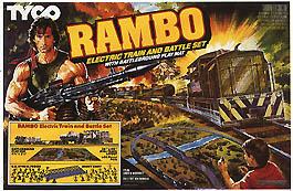 Les Train - circuit de Dessins annimés et séries Rambos10