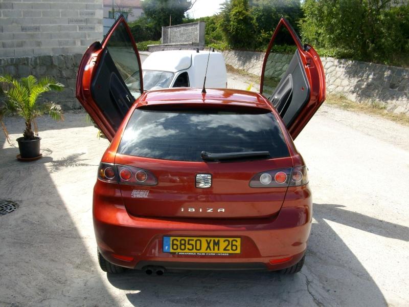 Seat Ibiza de Laurent avec des LSD 911