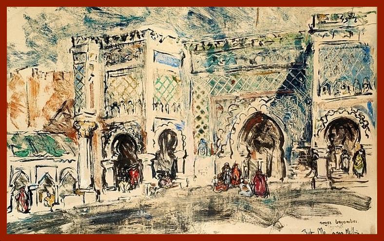 Les Peintres Orientalistes 2 - Page 16 Bab_ma11