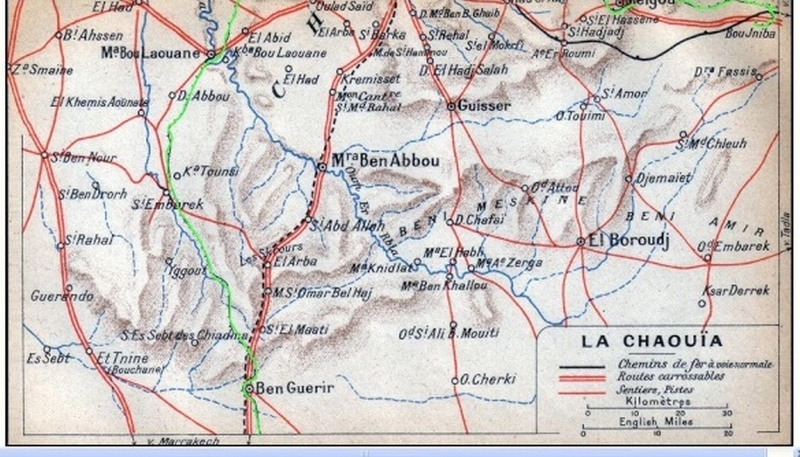 Transports CFM, Gares et Affiches du Maroc Casa-b10
