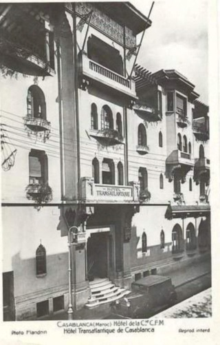 Transports CFM, Gares et Affiches du Maroc - Page 23 Casa_c11