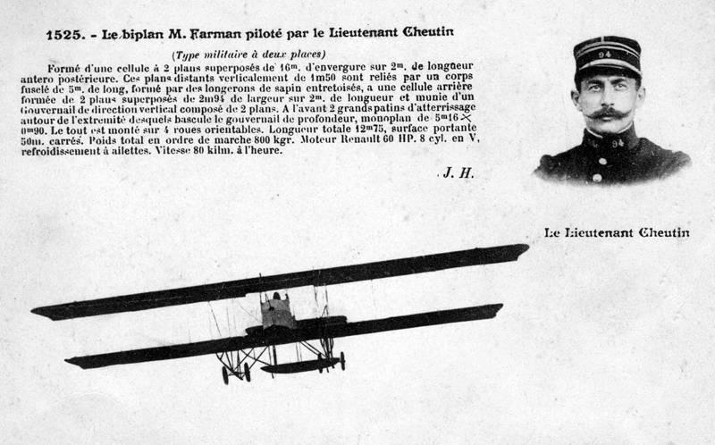 Aviation : les 1ères escadrilles et grands pilotes Cheuti11