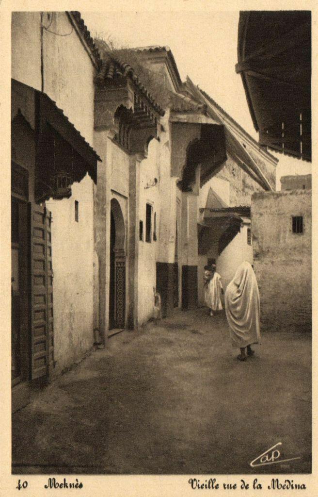 L'école Derb Slaoui, en Médina Cpa-ma27