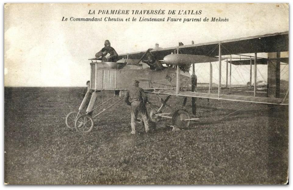 Aviation : les 1ères escadrilles et grands pilotes Farman14